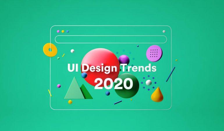 5 UI Design Trends, die wir in unseren Projekten in 2020 nutzen