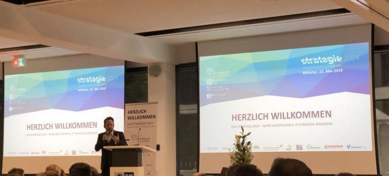 """IT-Strategiekongress """"Strategie 2024"""" in Münster"""
