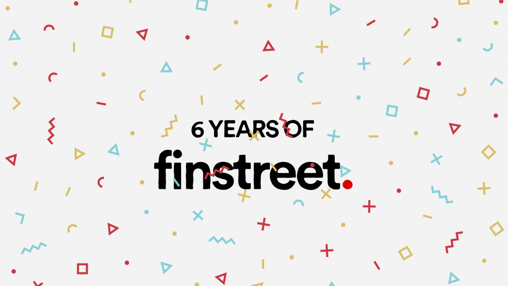 It's our birthday – finstreet wird heute 6 Jahre! #happybirthdaytous 🥳🎂🎉🎈