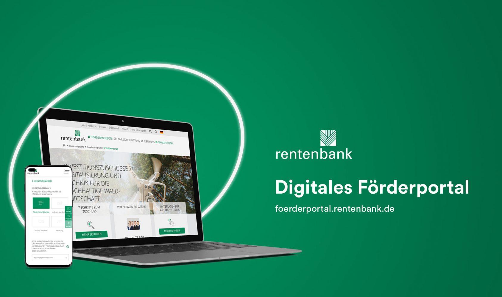 Förderportal der Rentenbank für eine nachhaltige Waldwirtschaft