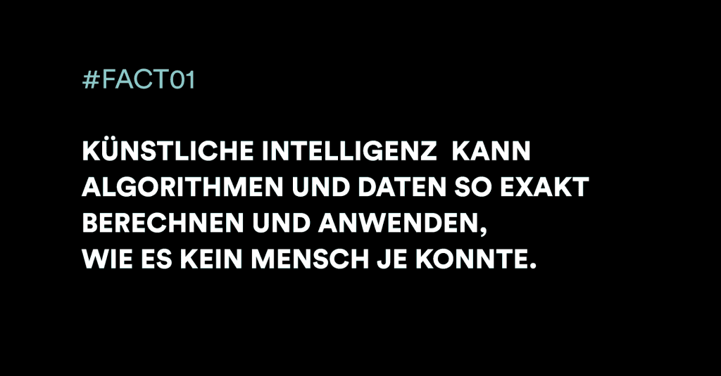 Künstliche Intelligenz Fakt 1