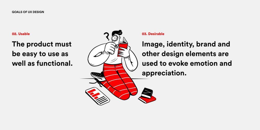 7 Ziele im UX Design - Usable und Desirable