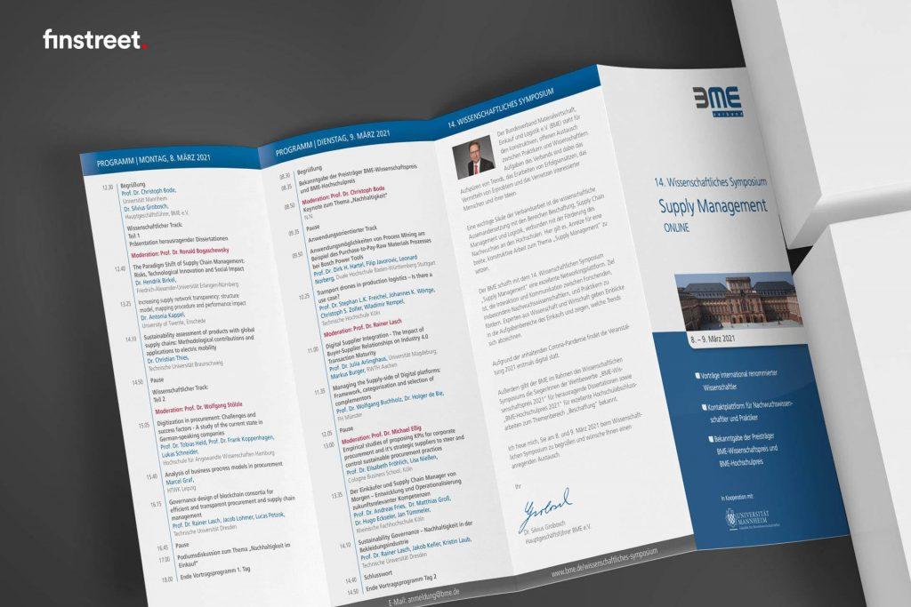 Flyer zum 14. wissenschaftlichen Symposium online