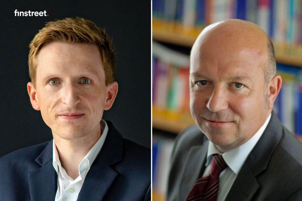 Dr. Holger de Bie und Prof Dr. Wolfgang Buchholz